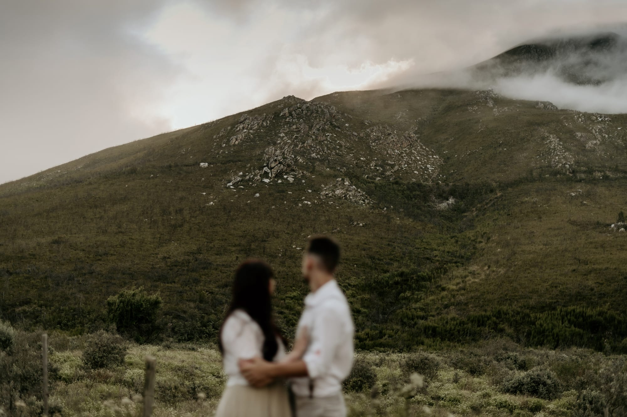 couple staring into the distance june richards photography weddings and elopements garden route
